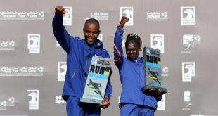2019 Adnoc Abu Dabi Maratonu'ndan en renkli görüntüler