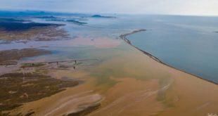 Kızıl Deniz'le birleşen Dahban Vadisi'nden büyüleyici manzaralar