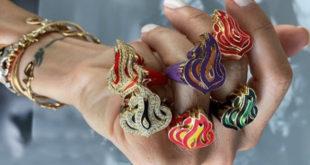 İşte mücevherleri ile duyguları alevlendiren Arap tasarımcı