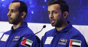 BAE astronotu gençlerle birlikte Avustralya'ya destek sağladı