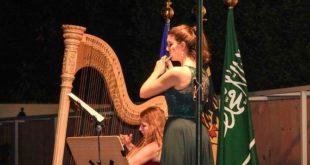 Suudi Arabistan'da sahne alan Alman müzisyenler performanslarıyla büyüledi