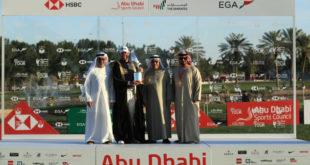 Abu Dabi HSBC Golf Şampiyonası sonuçlandı; Lee Westwood Kanatlı Şahin Kupası'nın sahibi oldu