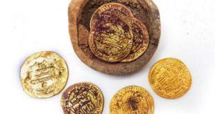 Harun Reşid'in 200 yıllık altınları İsrail'de bulundu
