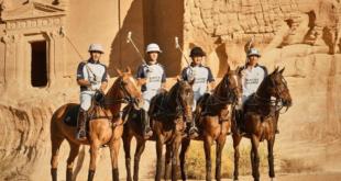 Dünyanın ilk çöl polo turnuvası Suudi Arabistan'da yapıldı