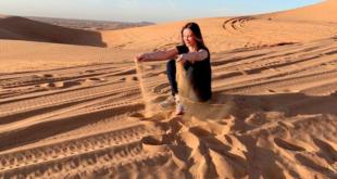 Demet Şener Dubai çöllerinde ne yapıyor?