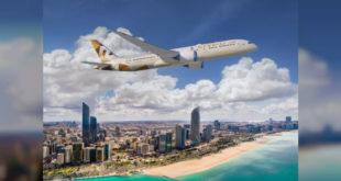 Etihad Havayolları'ndan Brüksel'e daha az yakıt tüketimi yapan uçuş başladı