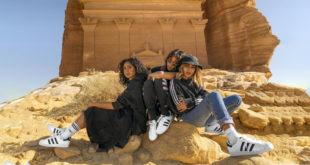 Suudi Arabistan'ın güzellikleri Adidas'a ilham kaynağı oldu