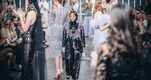 Arap tasarımcı Londra Moda Haftası'nda büyüleyici Arabistan'ı anlattı