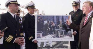 Roosevelt ve Abdulaziz'in torunları tarihi fotoğrafı yeniden canlandırdı