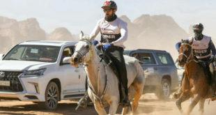 Dubai Veliaht Prensi, Al-Ula yarışlarında birinci oldu
