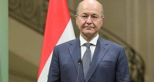 Irak Cumhurbaşkanı Salih: Irak bölgenin güvenlik ve istikrarı için önemli bir unsurdur