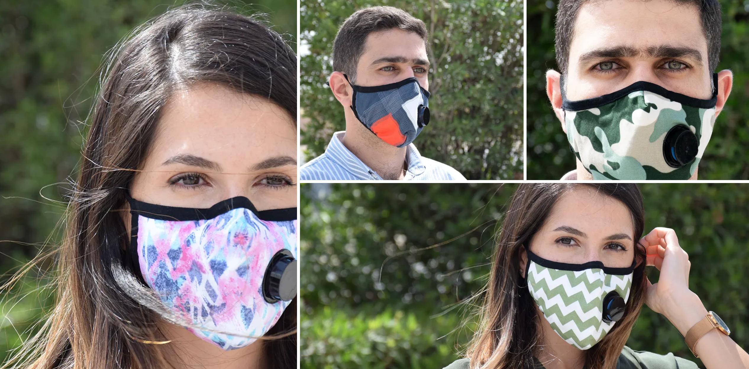 8 ay kullanılabilen, kendini dezenfekte eden, virüsleri öldüren maske üretildi - Körfez Haberi