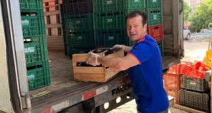 Dunga, 10 ton sebze toplayarak Brezilyalı yıldızlara meydan okudu