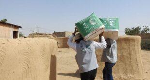 Kral Selman Yardım Merkezi, Yemen'deki mültecilere 2 bin 742 gıda paketi dağıttı