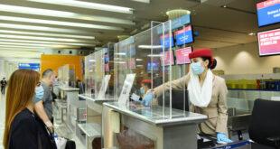 Havalimanına uçuşunuzdan dört saat önce gelin, eldiven ve maskenizi unutmayın