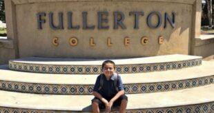 13 yaşındaki ABD'li Fullerton College'in en genç mezunu oldu