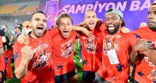 Başakşehir Süper Lig'in 6. şampiyonu oldu