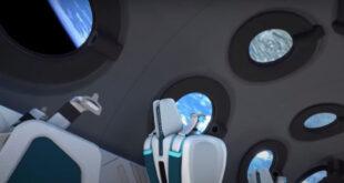 Turistleri uzaya taşıyacak aracın görüntüleri paylaşıldı