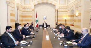 Beyrut'taki Irak heyeti, Lübnan'ın gıda maddeleri ile yakıt değişimini tartışıyor