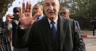 Cezayir Cumhurbaşkanı 'gönüllü' karantinada