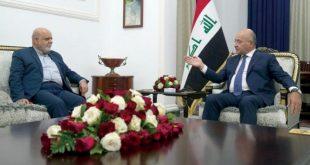 Irak Cumhurbaşkanı Salih, Fahrizade suikastını kınadı