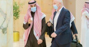 Suudi Arabistan Spor Bakanı ve FIFA Başkanı bir araya geldi