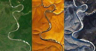 Uydu görüntüleri bilim insanlarını şaşırttı: Rusya üzerinde gizemli çizgiler bulundu