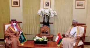 Suudi Arabistan ve Umman dışişleri bakanları Maskat'ta bir araya geldi