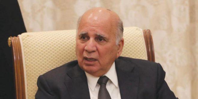 Irak Dışişleri Bakanı Fuad Hüseyin'den gerilimlere karşı iletişim çağrısı
