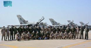 Suudi Arabistan'ın Tornado savaş uçakları Pakistan semalarında (VİDEO)