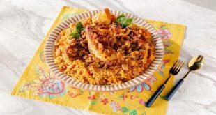 Arabistan mutfağından Tavuk Kabsa