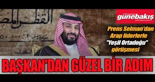 Prens Selman'ın 40 milyar fidan projesine Trabzon'dan destek