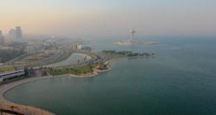 Suudi Arabistan'da sahilde keyif zamanı (VİDEO)
