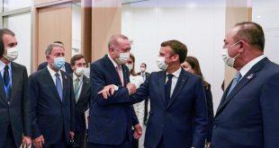 Erdoğan, NATO Zirvesi kapsamında Johnson, Merkel ve Macron ile görüştü