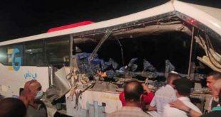 Mısır'da trafik kazası: 5 ölü, 20 yaralı