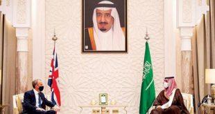 Suudi Arabistan Veliaht Presi, İngiltere Dışişleri Bakanı ile bölgesel konuları ele aldı