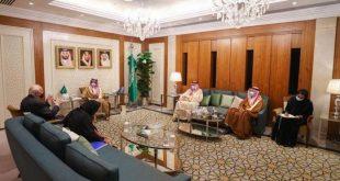 Suudi Arabistan Dışişleri Bakanı, BM Medeniyetler İttifakı Temsilcisi ile görüştü