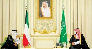 Suudi Arabistan ve Kuveyt veliaht prensleri, bölgesel ve uluslararası gelişmeleri görüştü