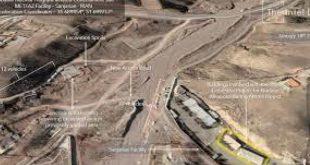 Uydu görüntüleri Mossad tarafından ortaya çıkarılan İran nükleer tesisi dikkat çekti