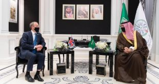 Halid bin Selman ve Dominic Raab, Yemen'deki barış çabalarını görüştü