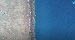 Suudi Arabistan'da kara ile denizin kucaklaştığı yer: Al-Wajh kıyıları (VİDEO)