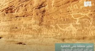Suudi Arabistan'ın Hema Arkeolojik Bölgesi; dünyanın açık hava kaya yazıtları müzesi (VİDEO)