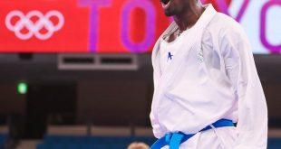 Suudi karateci Hamidi, 75 kiloda gümüş madalya kazandı