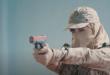 Suudi Arabistan'ın kadın askerleri kamera karşısında (VİDEO)